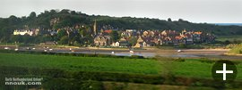 Alnmouth seen from the train