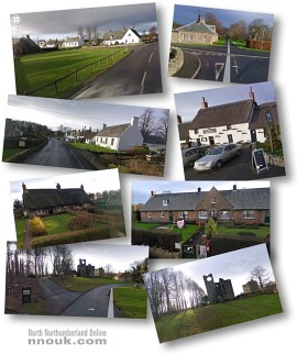 Google Streetview sightseeing tour of Etal
