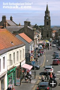 Main street Berwick upon Tweed