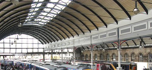 Central Station at Newcastle upon Tyne
