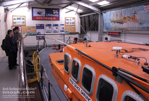 RNLI lifeboat staion at Seahouses harbour