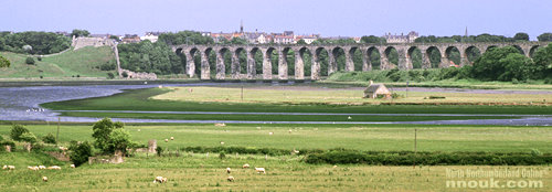 The Royal Border Bridge at Berwick