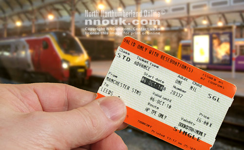 A train ticket